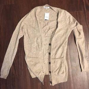 Madewell Graduate Tan Cardigan size XS NWT